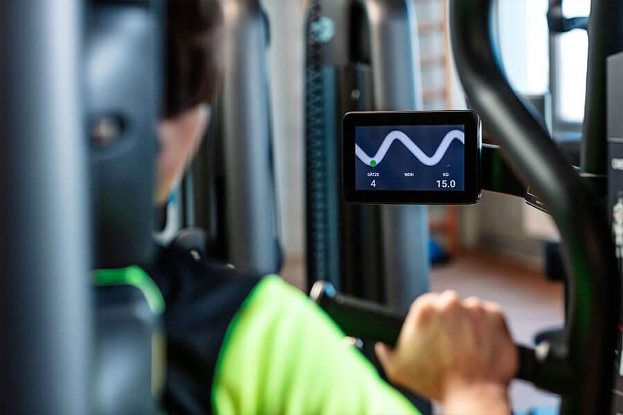 AirFitness - unterstützt durch Monitore mit BioFeedback