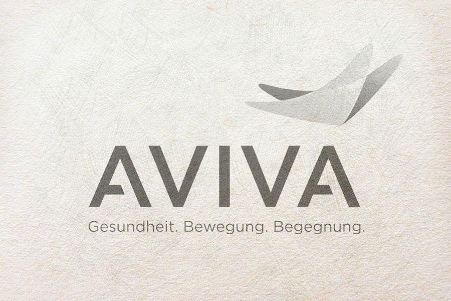 AVIVA Logo Sketch