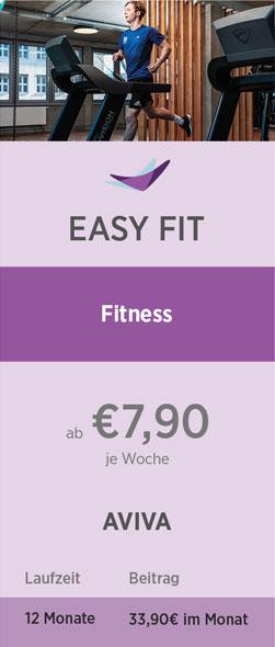 Preistabelle Easy Fit 08-21