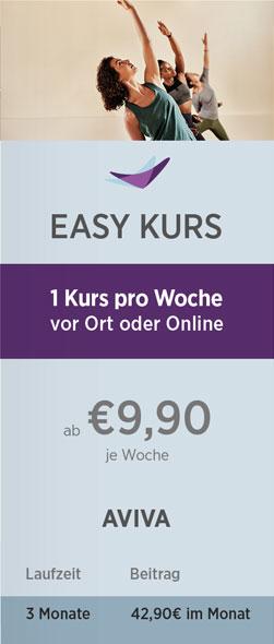 Preistabelle Easy Kurs 08-21